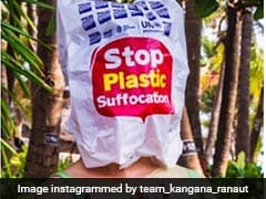 World Environment Day: Kangana Ranaut Put A Bag Over Her Head. Here's What You Can Do