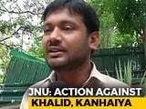 Video : JNU's Umar Khalid Expelled, Kanhaiya Kumar Fined Over 2016 Sedition Case