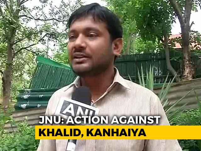Video : JNU's Umar Khalid Expelled, Kanhaiya Kumar Fined Over 2016 Sedition Case