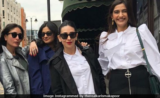 On London Holiday, Veeres Kareena Kapoor, Sonam And Rhea Joined By Karisma