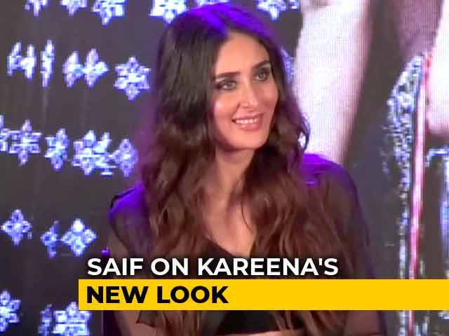 Watch | What Did Saif Think Of Kareena's Look In Her New Song #Tareefan?
