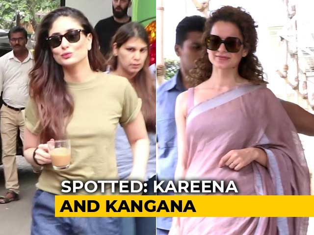 Video : Celeb Spotting: Kareena Kapoor, Kangana Ranaut & Others