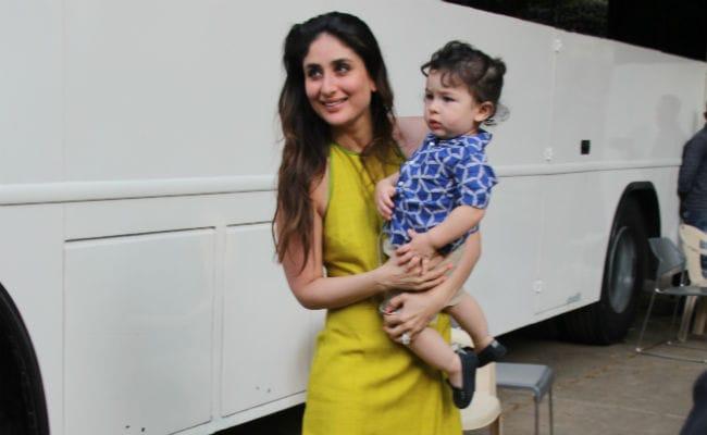Veere Di Wedding: Kareena Kapoor Brings Son Taimur To Promotions, Saif Ali Khan Joins In Too