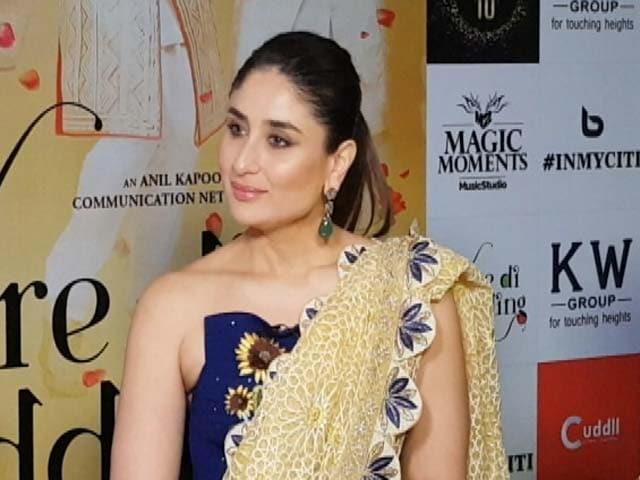 Taimur Has Gone on Me: Kareena Kapoor