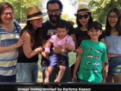 Inside Karisma Kapoor's Cozy Birthday Picnic. (Yes, Taimur Was There)
