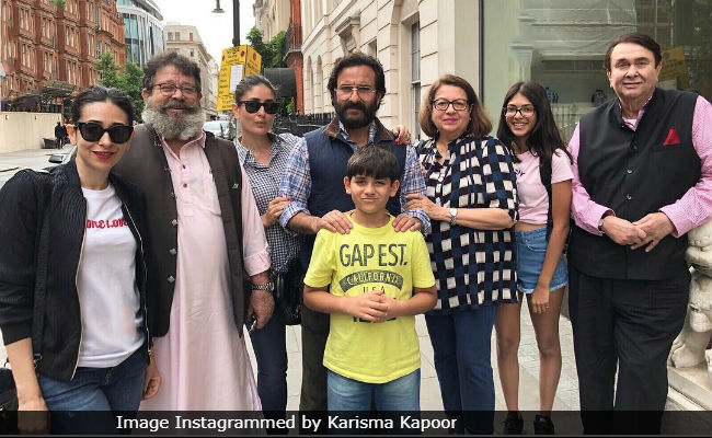 Where's Taimur In Karisma Kapoor's Family Pic From London? Fans Asked