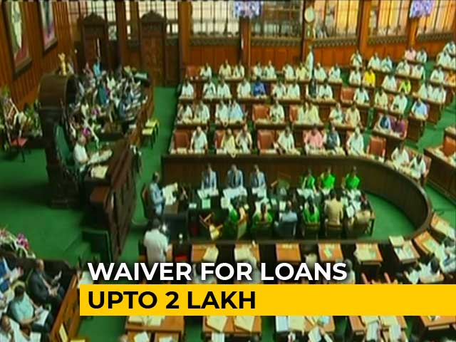 Video : HD Kumaraswamy Government's Loan Waiver For Farmers to Cost 34,000 Crores