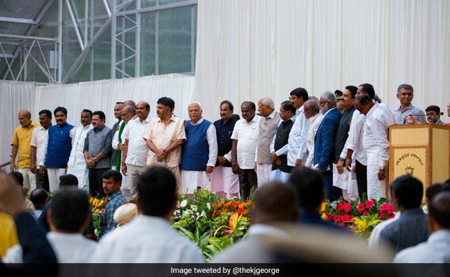 Karnataka Cabinet Expanded, 25 New Ministers Take Oath