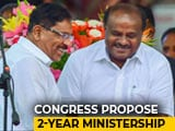 Video : Crisis-Hit Karnataka Congress Weighs R And R - Rotate And Replace - Plan