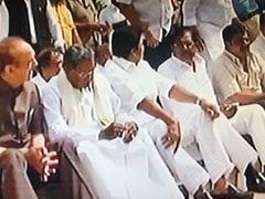 """India Will Mourn Defeat Of Democracy"": Rahul Gandhi On Yeddyurappa Oath"