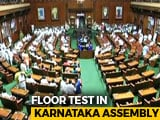 Video : Just Before HD Kumaraswamy Trust Vote, Congress Wins Speaker's Post
