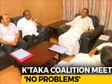Video : Congress, JD(S) Say 'What Problem', Get Together For Key Roadmap Meet