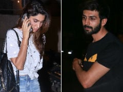 Kartik Aaryan Spotted With Rumoured Girlfriend Dimple Sharma Again