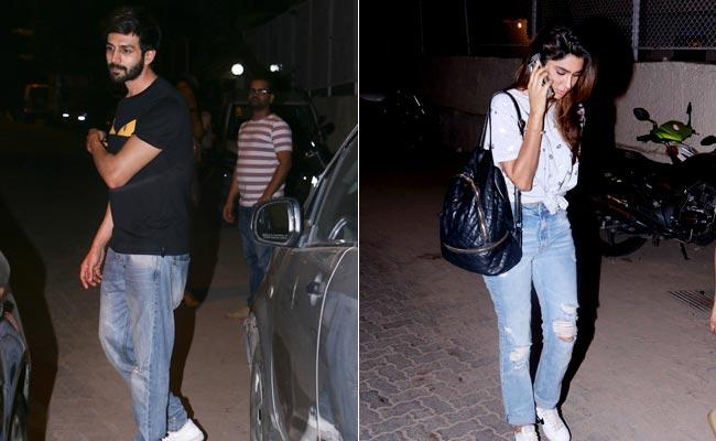 Kartik Aaryan Spotted With Rumoured Girlfriend Dimple Sharma Again