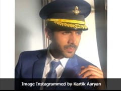 Meet Kartik Aaryan, 'The Most Handsome Pilot' (So Says The Internet)