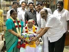Celebrations In Chennai, Karunanidhi Turns 95