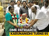 Video : Celebrations In Chennai, Karunanidhi Turns 95 Today