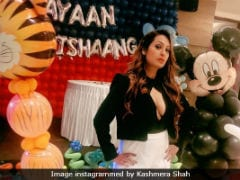 After Twins' Party, Kashmera Shah Asks Why A 'Loving Mom Needs To Apologise For Being Hot'