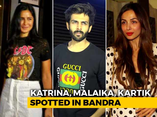 Celeb Spotting: Katrina Kaif, Malaika Arora & Others