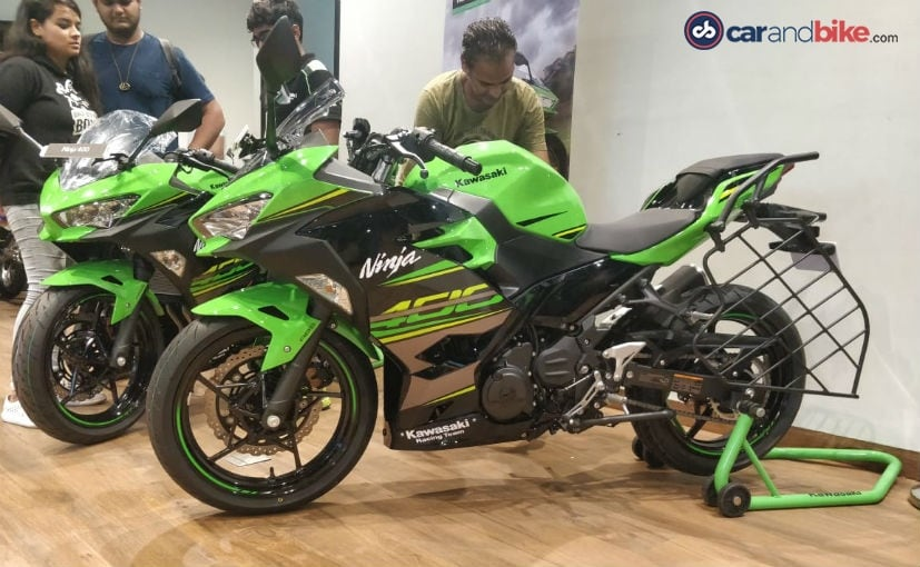 The Kawasaki Ninja 400 is locally assembled at the bike maker's Chakan-based plant