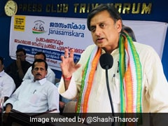 "BJP Win In 2019 Will Lead To Creation Of ""Hindu Pakistan"": Shashi Tharoor"