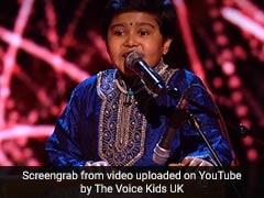 हारमोनियम पर इस अंदाज में गाया 'बलम पिचकारी', क्रेजी हो गए फिरंगी; 10 साल के कृष्णा ने The Voice Kids UK में मचाया धमाल
