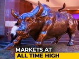 Video : Markets Scale Fresh Peaks: Sensex Jumps Over 150 Points, Nifty Nears 11,750