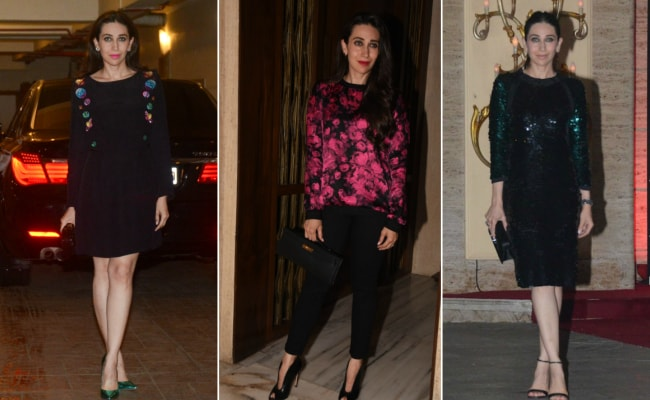 Yet Again, Karisma Kapoor Shows Us How To Glam Up In Black