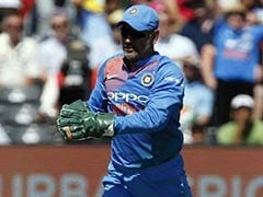 Twitter Abuzz After MS Dhoni Takes Match Ball From Umpire. Watch