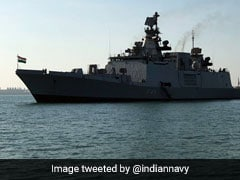INS Sahyadri Reaches Australia's Port Of Darwin For Maritime Exercise