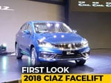 Video : Maruti Suzuki Ciaz Facelift: First Look