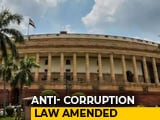 Video : Parliament Passes Bill That Will Also Punish Bribe-Givers