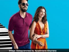 <I>AndhaDhun</I> New Poster: Ayushmann Khurrana And Radhika Apte 'Stumble Upon Love'