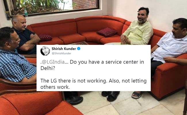 'LG In Delhi Not Working,' Tweets Shirish Kunder. LG Electronics Responds
