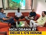 Video : After Sleepover, Arvind Kejriwal Stays Put At Lt Governor's In Protest