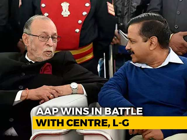 Video : AAP Ki <i>Dilli</i>, Says Top Court, Emphasis On Elected Government