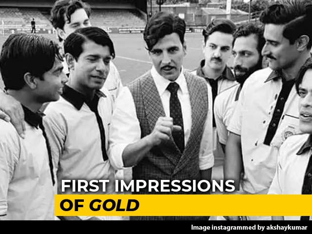 First Impressions Of Akshay Kumar's Gold