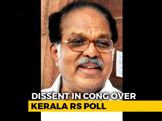Video : Tussle Over Rajya Sabha Seat Divides Congress In Kerala. Ally Is Winner