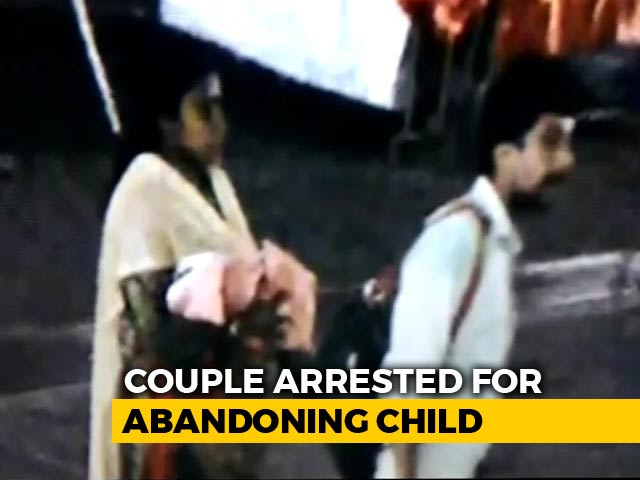 Video : On CCTV, Kerala Couple Abandons Baby, Father Kisses Her Before Leaving