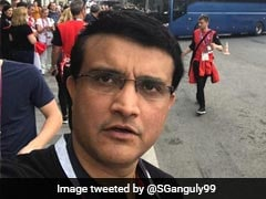 World Cup 2018: Sourav Ganguly Arrives In Moscow For France vs Croatia Final