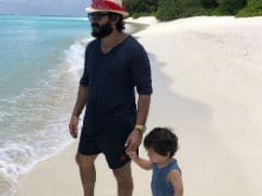 Kareena Kapoor, Saif Ali Khan And Taimur Feature <I>Beach Beach Mein</I> In Soha-Kunal's Maldives Vacation Updates