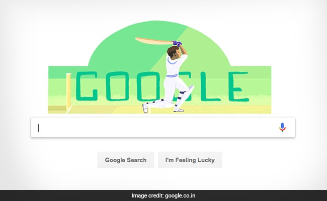 Dilip Sardesai s Birthday  Google Celebrates Indian Cricketer s 78th ... 3d2db302cad