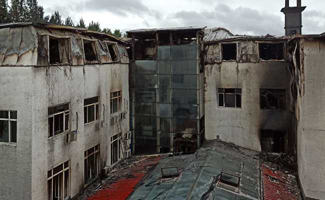 Fire at hot springs hotel leaves 18 dead
