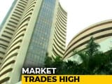 Video : Sensex Opens Above 37,250, Nifty At 11,243 For First Time Ever