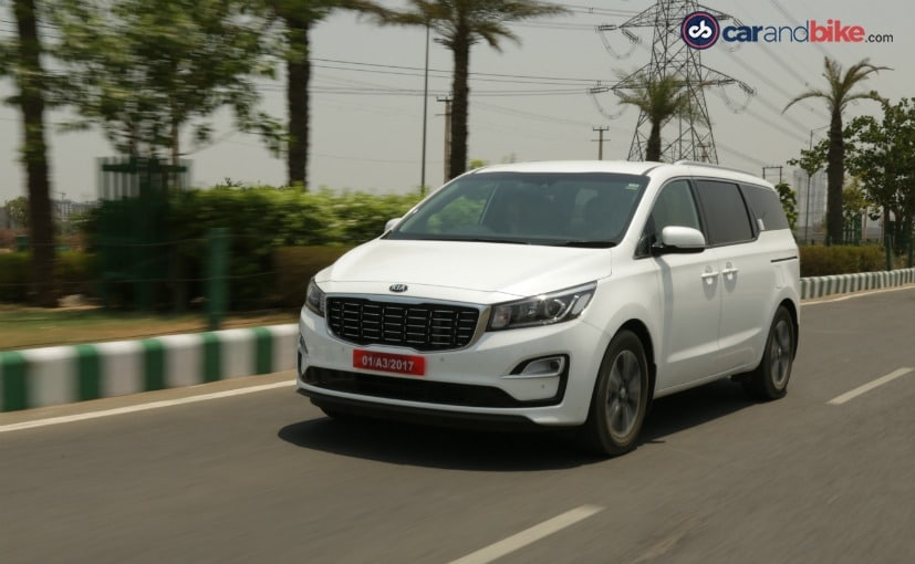 Kia Carnival will be manufactured at the company's Anantapur plant in Andhra Pradesh
