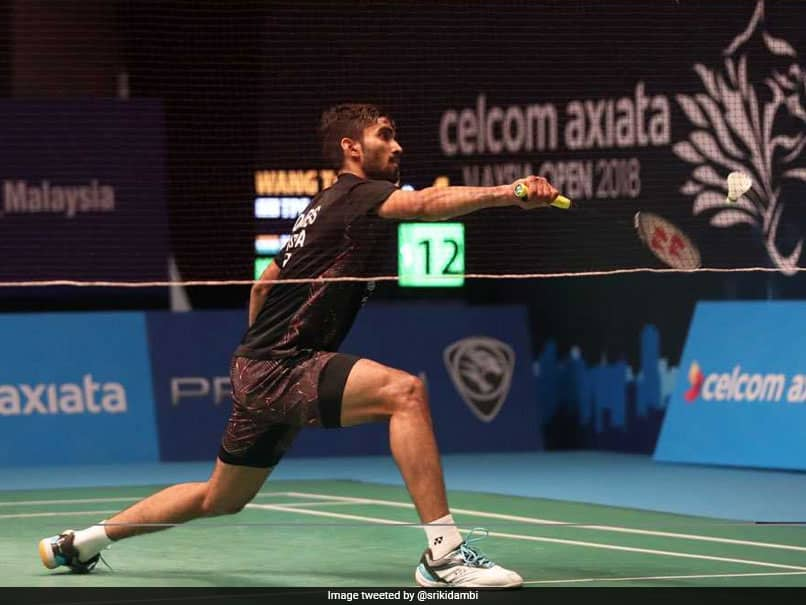 Malaysia Open 2018: Kidambi Srikanth Beats Brice Leverdez To Reach Semi-Finals