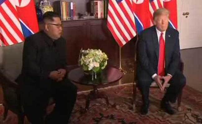 LIVE: सिंगापुर में किम-ट्रंप की ऐतिहासिक बैठक शुरू, अमेरिकी राष्ट्रपति ट्रंप ने कहा- अच्छी बातचीत की उम्मीद