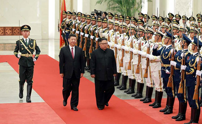 North Korea, China Discuss 'True Peace', Denuclearisation: Report