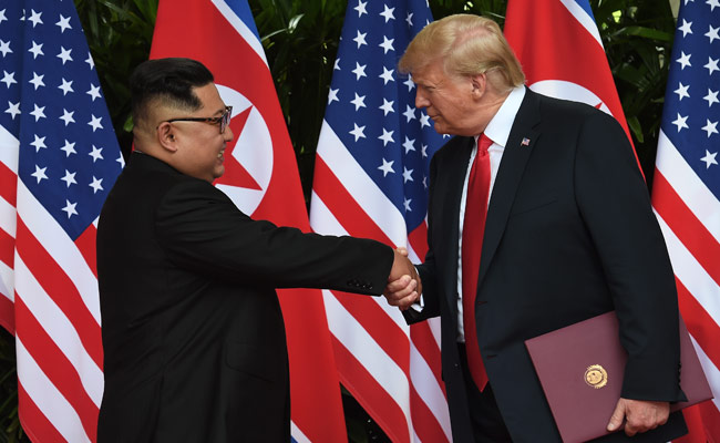 Back-Slapping Donald Trump Summit Legitimises Kim Jong Un, Say Critics
