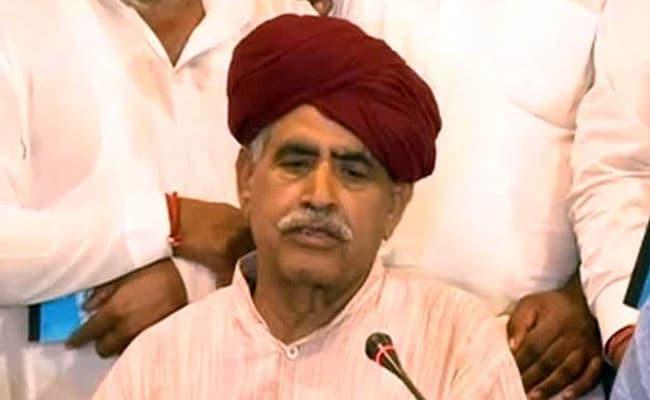 Gujjar Leader Kirori Singh Bainsla Falls Sick Amid Protests In Rajasthan